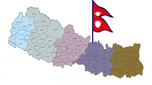 About Nepal country map