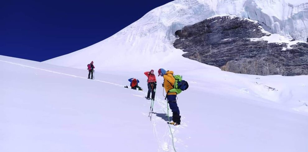 Himlung Expedition is a famous climbing peak above 7000 meters in the western part of Nepal. The mountain is great for the preparation of 8000-meter peak climbing in the future.